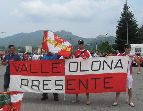 tifosi varese calcio trasferta cremona giugno 2010