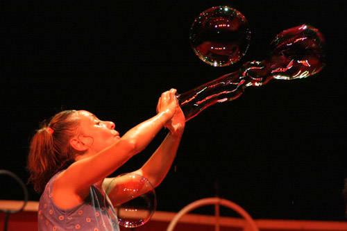 via paal 2010 bolle di sapone