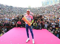 ivan basso maglia rosa arena verona giugno 2010