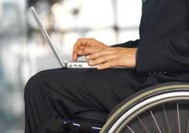 disabile carrozzina terza