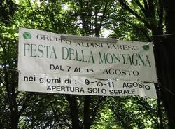 motoraduno festa alpini di Varese 2010