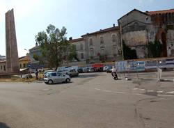 piazza vittorio emanuele lavori monumento ai caduti busto arsizio