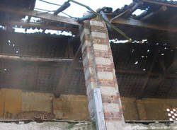 cascina burattana crollo settembre 2010