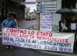 cobas scuola, protesta, 18 settembre 2010