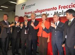 freccia rossa malpensa napoli inaugurazione 13 settembre 2010