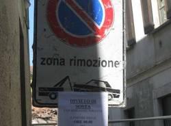 piazza vittorio emenuale ii via solferino lavori soceba abbattimenti settembre 2010