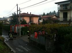 casa bruciata luino gas