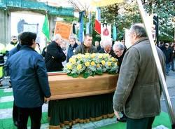 funerale gianni piotti sindaco albizzate