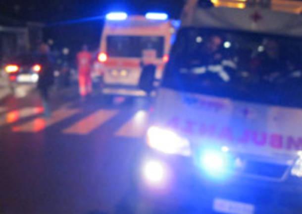 generica apertura ambulanza incidente