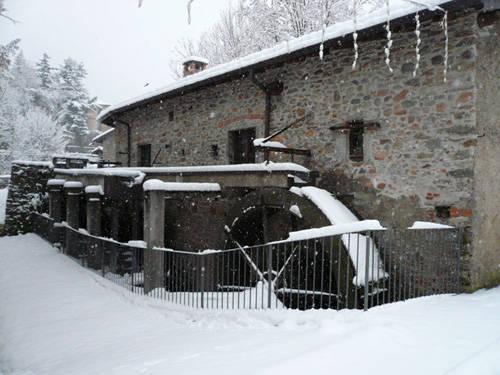 valganna nevicata 28 novembre