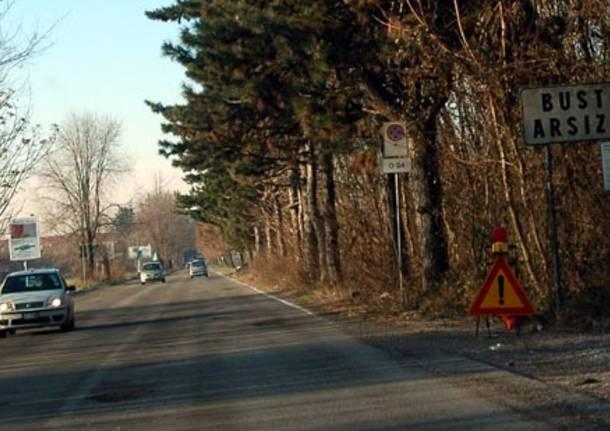 buche asfalto castellanza busto arsizio