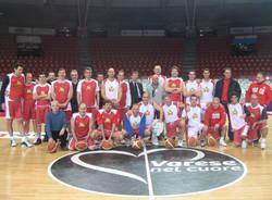 partita consorzio dirigenti pallacanestro varese dicembre 2010