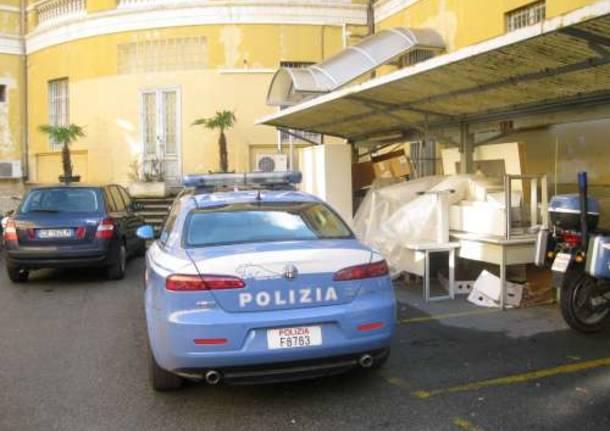 porfidio commissariato polizia busto