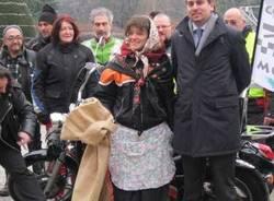 befana sindaco varese giardini estensi motociclisti 6-1-2011