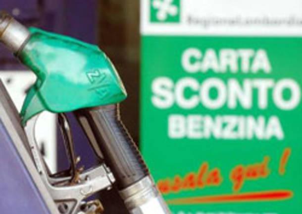 carta sconto benzina apertura