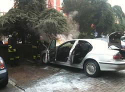 incendio gallarate gennaio 2011 banca intesa