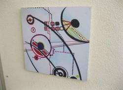 mo.om hotel olgiate olona pannelli ragazzi liceo artistico candiani arte pittura