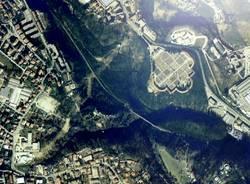 Mostra Accademia Mendrisio Villa Baragiola Cimitero Belforte satellite