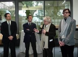 Mostra Accademia Mendrisio Villa Baragiola conferenza stampa