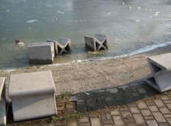 parco comerio vandalismi 1-1-2011