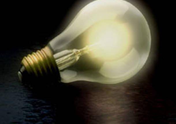 lampadina m'illumino di meno apertura