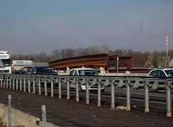 avanzamento lavori bivio lainate como chiasso autostrada a8 a9