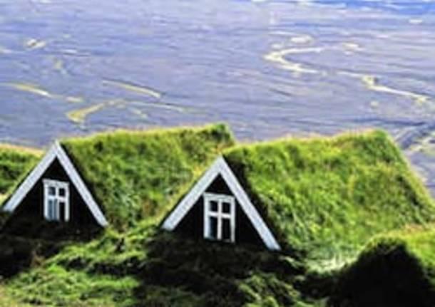 architettura verde casa apertura
