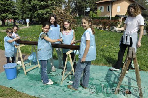 buguggiate giornata del verde pulito parco don gnocchim 2011