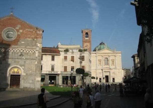 gallarate piazza san pietro basilica