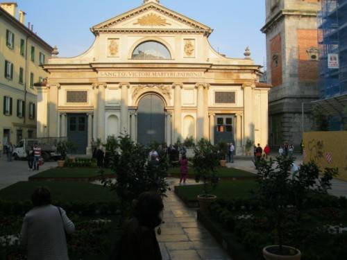 giardino all'italiana piazza san vittore