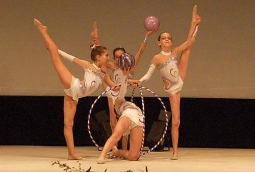 serata pro patria ginnastica scherma teatro sociale pasqua dell'atleta 2011 assb busto arsizio