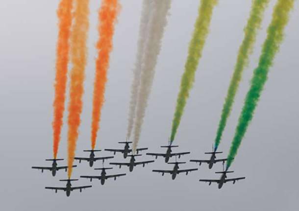 airshow airmacchi 2011 frecce tricolori