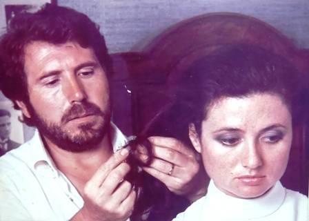 Alfredo Pellini con Gigliola Cinquetti