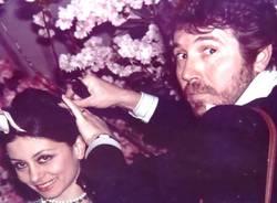 Alfredo Pellini con Liliana Cosi