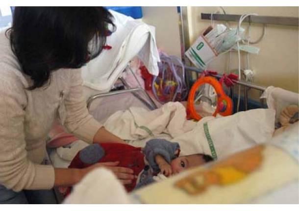 bambini ricoverato pediatria