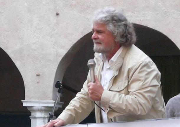 beppe grillo varese maggio 2011
