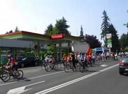 biciclettata centrosinistra gallarate maggio 2011