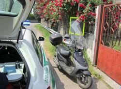 incdente solbiate olona scooter