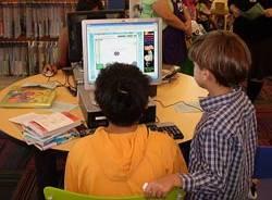 internet computer bambini ragazzi