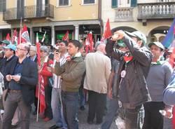 manifestazione primo maggio varese 2011 sindacati
