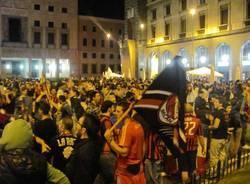 Milan scudetto 2011 varese festa