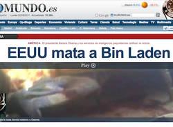 osama ucciso giornali