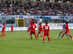 pro patria pro vercelli maggio 2011 play off calcio seconda divisione