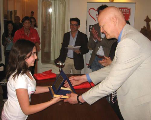 premiazioni basket scuola di vita 2011 bob morse