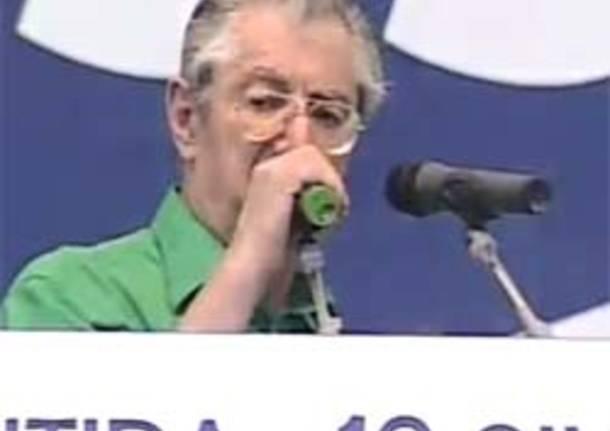 Umberto bossi Pontida 2011