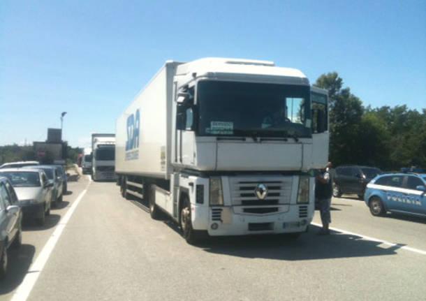 cargo city blocco camion malpensa