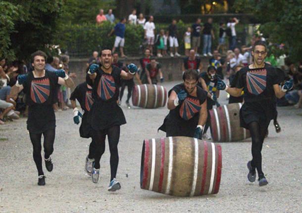 palio dei castelli castiglione olona 2011 corsa botti