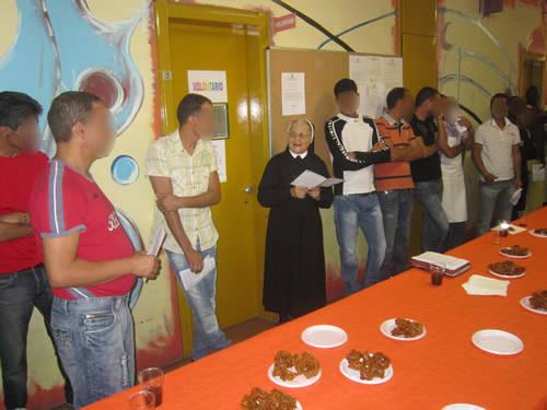 festa fine ramadan carcere busto arsizio agosto 2011