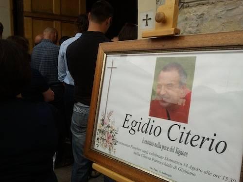 Funerale Egidio Citerio sub leggiuno