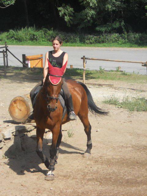 Giulia e la sua bellissima cavalla !